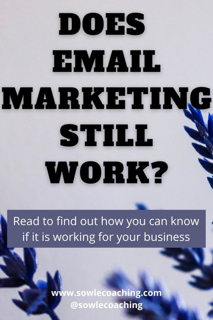 Does email marketing work