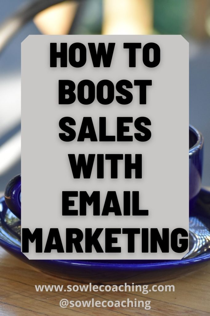 Increase sales with email marketing