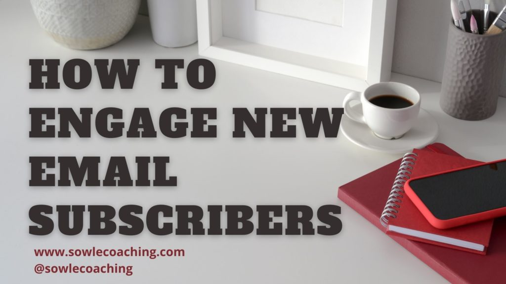 Connect with new email subscribers