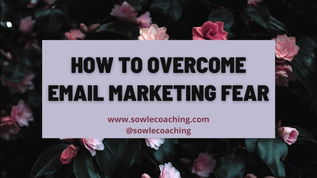 Fear of email marketing