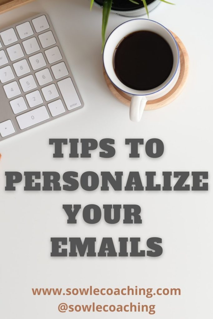 Email personalization