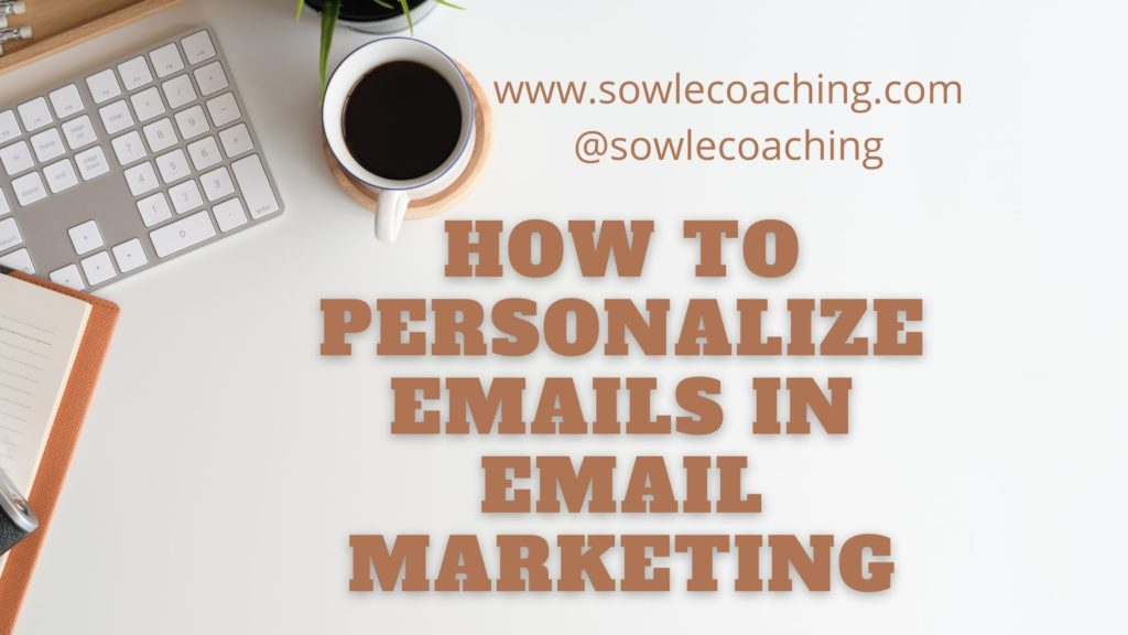 Email personalization for email marketing